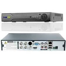Logisaf 4 Channels DVR AHD NVR CCTV Network 4CH H.264 Digital Video Recorder