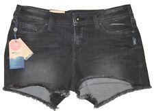 Silver Brand Berkley Short Faded Black Denim Shorts Jeans Sz 27 L52818SBG520 NWT