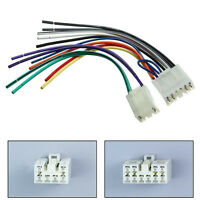 Radio Stereo CD Player Reverse Wire Wiring Harness Plug Connector For Toyota