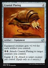 FOIL Placca Cefalica - Cranial Plating MTG MAGIC MM2 Modern Masters 2015 Eng