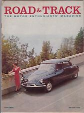 Road & Track Magazine June 1958 See My Store
