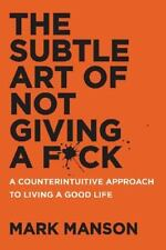 PDF EBOOK The Subtle Art of Not Giving a Fuck : A Counterintuitive Approach