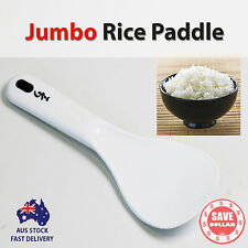Plastic Jumbo Big Size Bio Rice Spoon Paddle Scoop Household White Korean Made