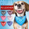 Dog Puppy Bandana Collar Adjustable Cat Pet Neckerchief 7 Colours & XS,S,M,L,XL