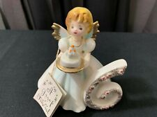 "A Josef Original Collectible Angel ~ ""The Sixth Year"" w/Tag ~ 4 1/4"" Tall"