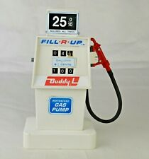 """Buddy L Battery Op """"Fill-R-Up"""" Toy Gas Pump 7"""" High Japan Working Excellent"""
