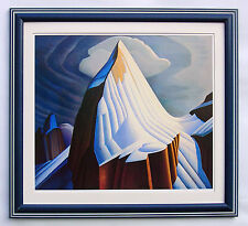 "Group of Seven, Lawren Harris ""Mount Lefroy"" Large Print in Frame"