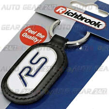 Richbrook Official Licensed Real Leather Ford RS Car Keyring Key Chain Fob