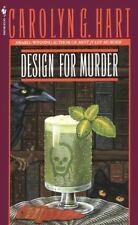 Death on Demand Mystery: Design for Murder No. 2 by Carolyn Hart (1988, Paperbac
