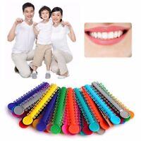 Orthodontics Rubber Bands Multi Color Health Dental Ligature Ties Teeth Tools