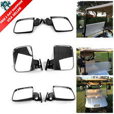 Golf Cart Mirrors Side Rear View Fits Club Electric Car Yamaha Accessories EZGO