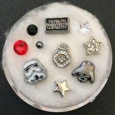 Floating Charm Set~*~Star Wars Darth Vader Yoda Space Ship~*~Living Lockets