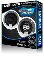 """Landrover Defender Front Dash Enceintes Fli 4"""" 10 cm Voiture Haut-parleurs + adaptateurs 150 W"""