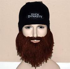 DUCK DYNASTY A & E TV Network Show Jase Robertson Camo BEANIE CAP with BEARD New