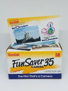 Kodak Fun Saver 35mm Disposable Film Camera 20th Anniversary Disney World