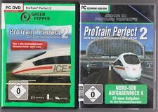 Pro Train Perfect 2 Hauptspiel + ADDON Aufgabenpack 4 Nord-Süd  PC Spiele