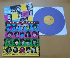 THE ROLLING STONES Some Girls 2011 European purple vinyl LP mispress 100-only