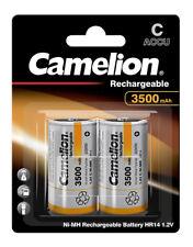2 x Camelion 3500mAh Baby C HR14 Akku 1,2 V Power Akku NiMh Accu - 1 x 2er VPE