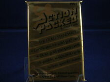 1991 Action Packed Gold Standard Football Factory Sealed Packs   LOT OF 4