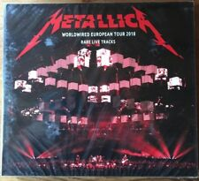 "METALLICA : ""Worldwired European Tour 2018"" (RARE 2 CD LIVE TRACKS)"