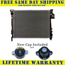 Radiator With Cap For Dodge Fits Ram 1500 2500 3500 Pickup 5.7 V8 8Cyl 2813WC