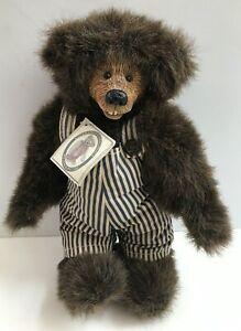 "Kimbearly's Originals Chuckles 12"" Plush Bear by A & A Plush ~ NEW!"