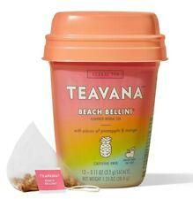 Starbucks Teavana Beach Bellini Herbal Tea Blend 15 Sachets Mango Pineapple