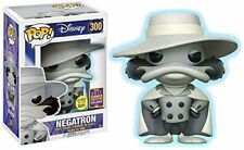 Pop! Disney Darkwing Duck Negatron GID #300 Vinyl Figure Funko F