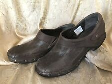 MERRELL~LUXE EXPRESSO~CLOGS/SHOES~BRN LEATHER~WMNS US 7.5/ UK 5/EUR 38~EC