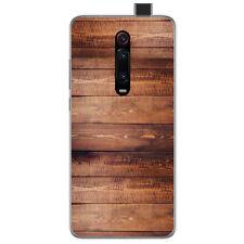 Funda Gel Tpu para Xiaomi Mi 9T / Mi 9T Pro diseño Madera 02 Dibujos
