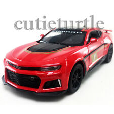 Kinsmart 2017 Chevy Camaro ZL1 1:38 Diecast Toy Car KT5399DF Racing #1 Red