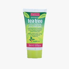 AUSTRALIAN TEA TREE SKIN CLEANING GEL 30ml Blemish Spots Removal Clear Treatment