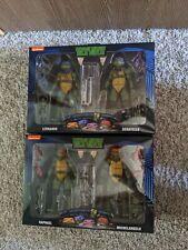 NECA TMNT Walmart 2 Pack  Leonardo Donatello Raphael Michelangelo Figures NEW