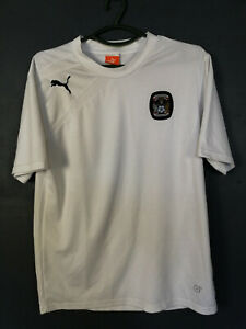 PUMA FC COVENTRY CITY TRAINING WHITE SOCCER FOOTBALL SHIRT JERSEY MAGLIA SIZE M