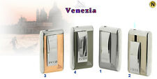 ACCENDINO LIGHTER TURBO JET FLAME ANTIVENTO LUBINSKI SWAROVSKI WA236 VENEZIA