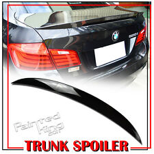 Painted For BMW 5-Series F10 HIGH KICK Performance P-Type Rear Trunk Spoiler