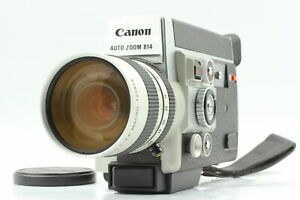 【MINT+ ALL WORKS】Canon Auto Zoom 814 Electronic 8mm Movie From JAPAN