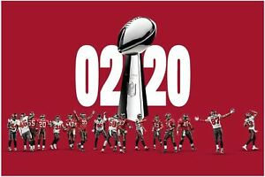 Football Tampa Bay Buccaneers1 2021 Poster Art Print 17x11 24x36 36x24