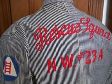 WWII Era Model Cover-Alls as Worn by Civil Defense Rescue Squad NW #23A Sz 42-44