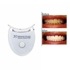 KIT TRATTAMENTO SBIANCANTE DENTI TARTARO GEL 20 MINUTE WHITE LED SORRISO SC0