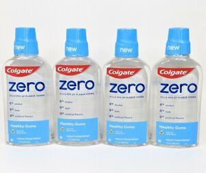 Colgate Zero 4Xs Healthy Gums Mouthwash Spearmint 17.4 oz ea Exp 1/2022 - 10/22