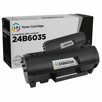 LD Compatible Lexmark 24B6035 Black Toner Cartridge for use in M1145 & XM1145