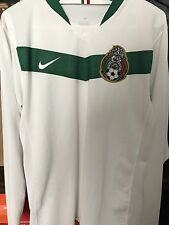 Rare Authentic 2006 Nike Mexico Soccer Jersey Away El Tri L Long Sleeve