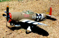 Republic P-47D Thunderbolt Large Scale 1:16 Guillow's Balsa Aircraft Kit 768mm W