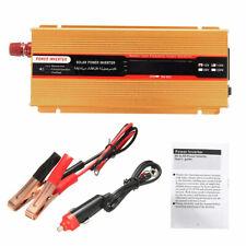Pure Sine Wave Power Inverter 1500W DC 24V to 110V Converter Overload Protection