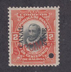 Canal Zone Sc 39 MNH. 1912-1916 2c Cordoba w/ 20mm SPECIMEN overprint VF