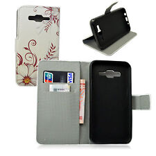 Leather With Card Slot Holster Stand Case Cover Shell For Samsung Galaxy J5 2015