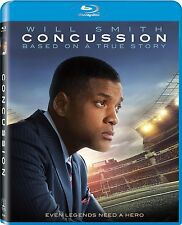 CONCUSSION (2015 Will Smith)  Blu Ray - Sealed Region free (29/03/16)