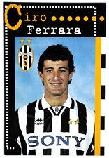 Cartolina Juventus Stagione 1996/97 – Ciro Ferrara