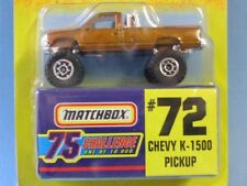 Matchbox USA Issue Gold Challenge Chevy K-1500 Pick-Up Toy Model Car